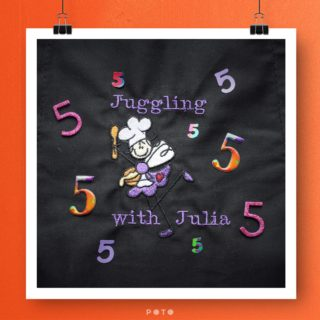 Juggling with Julia's 5th Blogiversary!