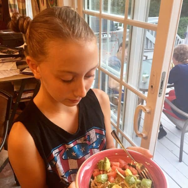 Lemon Herb Chicken and Rice Bowls - juggling with julia