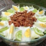 Layered Bacon Ranch Salad - Juggling With Julia