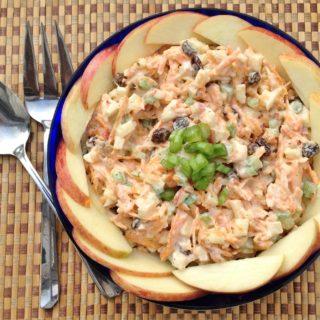 Carrot Apple Salad (aka Bunny Salad)