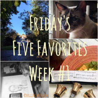 Friday's Five Favorites in Fotos – Week #1