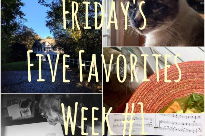 Friday's Five Favorites - juggling with julia