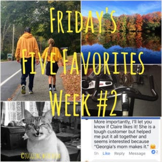 Friday's Five Favorites in Fotos – Week #2