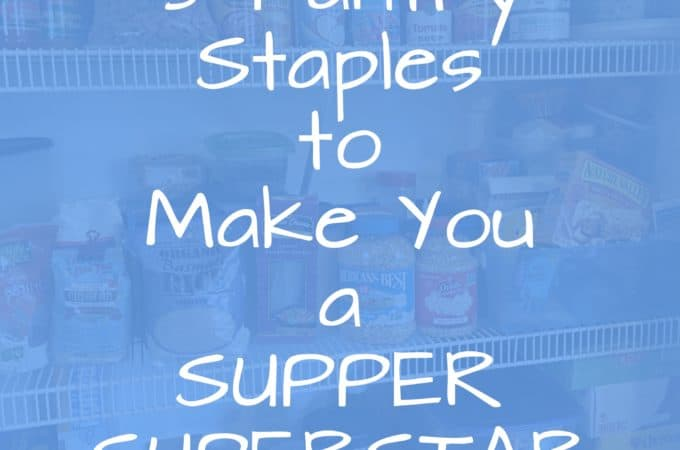 Pantry Staples - juggling with julia