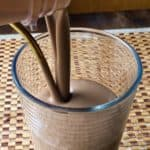 Chocolate Peanut Butter Banana Smoothie - juggling with julia