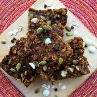 Pumpkin Monster Bars