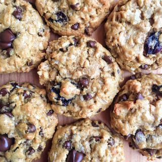 Loaded Flourless Monster Cookies (Gluten Free)