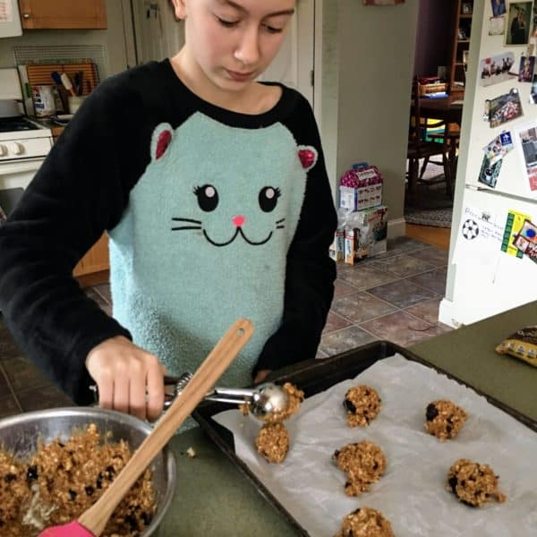 Loaded Flourless Monster Cookies - juggling with julia