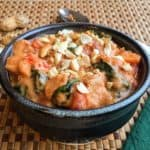 Savory African Peanut Stew - Juggling with Julia
