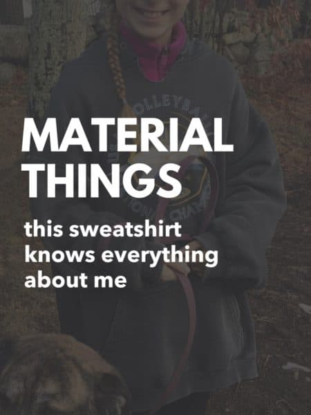 material things - juggling with julia