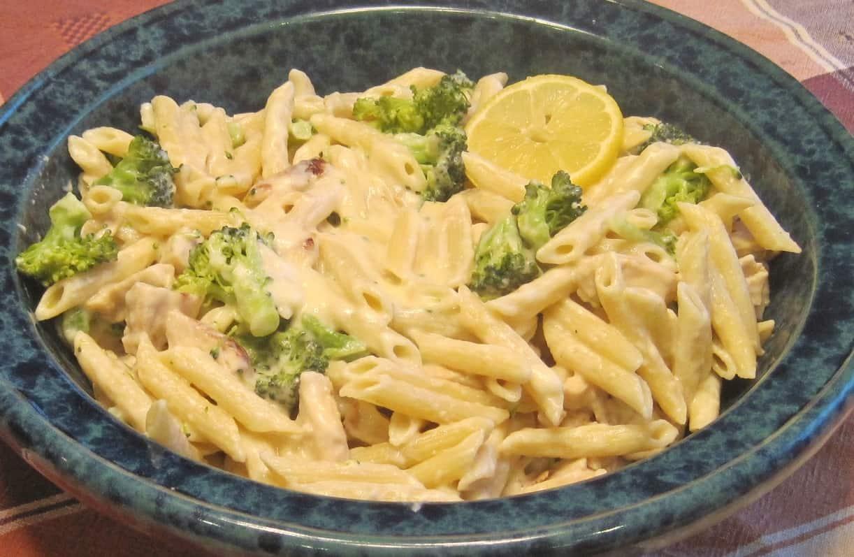 Asiago pasta recipe