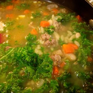 Winter Kale and Sausage Soup
