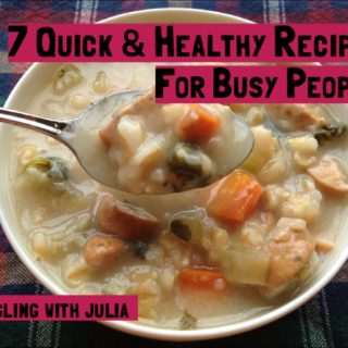 7 Quick and Healthy Recipes for Busy People
