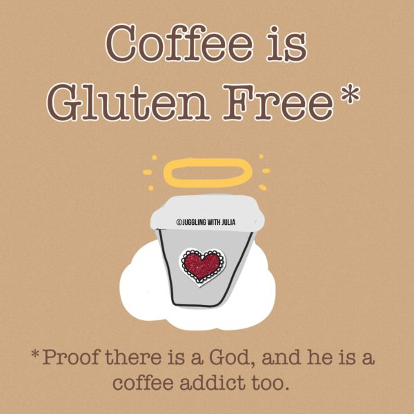 Coffee is Gluten Free