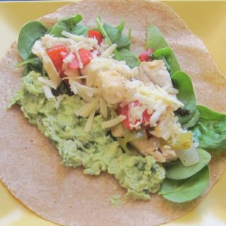 Fish Tacos with Tangy Guacamole