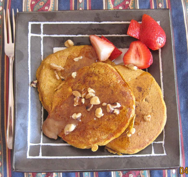 pumpkin spice pancakes makes 16 medium pancakes recipe adapted from