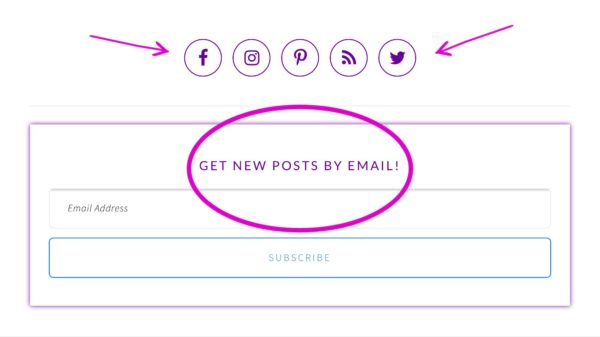 how to get an email button on instagram