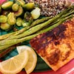 Barbecue Rubbed Salmon -- Juggling With Julia