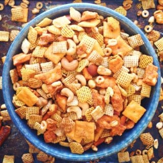 Spicy Snack Mix with a Kick