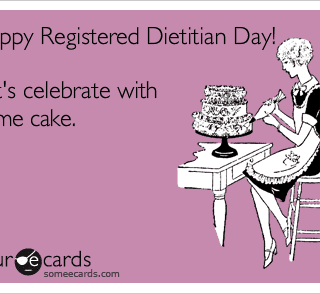 Celebrating the Profession of Dietetics